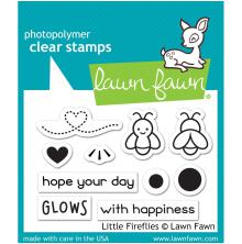 Lawn Fawn Clear Stamps 3X2 - Little Fireflies