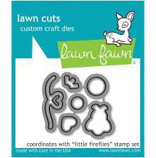 Lawn Fawn Custom Craft Die - Little Fireflies