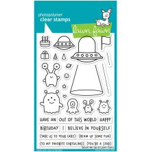 Lawn Fawn Clear Stamps 4X6 - Beam Me Up