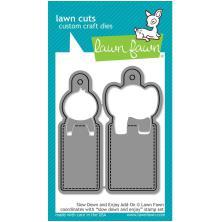 Lawn Fawn Custom Craft Die - Slow Down & Enjoy Add-On
