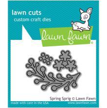 Lawn Fawn Custom Craft Die - Spring Sprig