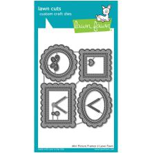Lawn Fawn Custom Craft Die - Mini Picture Frames