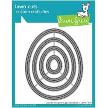 Lawn Fawn Custom Craft Die - Outside In Easter Egg Stackables