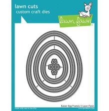 Lawn Fawn Custom Craft Die - Easter Egg Frames
