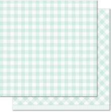 Lawn Fawn Gotta Have Gingham Double-Sided Cardstock 12X12 - Elsie