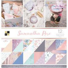 Die Cuts With A View Double-Sided Cardstock Stack 12X12 36/Pkg - Samantha Rose
