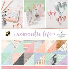 Die Cuts With A View Double-Sided Cardstock Stack 12X12 36/Pkg - Romantic Life