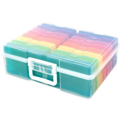 We R Memory Keepers Craft & Photo Translucent Plastic Storage 15X12X5