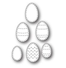 Poppystamps Die - Stitched Egg Medley