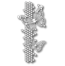 Memory Box Die - Silver Springs Butterfly