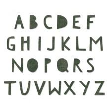 Tim Holtz Sizzix Bigz XL Alphabet Die - Cutout Upper