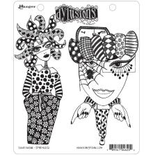 Dylusions Cling Stamp 8.5X7 - Endeavour