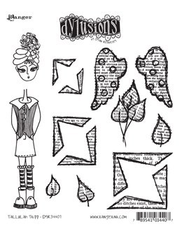 Dylusions Cling Stamp 8.5X7 - Tallulah Tripp