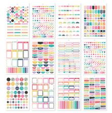 Simple Stories Carpe Diem A5 Planner Sticker Tablet - Planner Basics