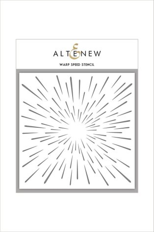Altenew Stencil 6X6 - Warp Speed