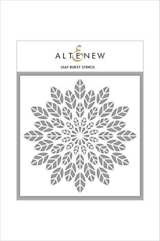 Altenew Stencil 6X6 - Leaf Burst