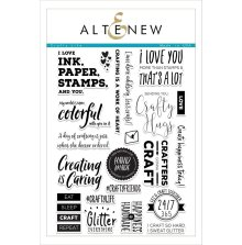 Altenew Clear Stamps 6X8 - Crafty Life
