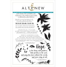 Altenew Clear Stamps 6X8 - Wings of Hope