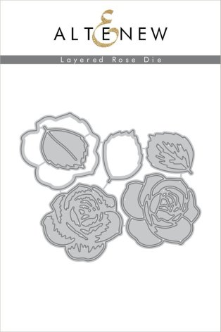 Altenew Die Set - Layered Rose