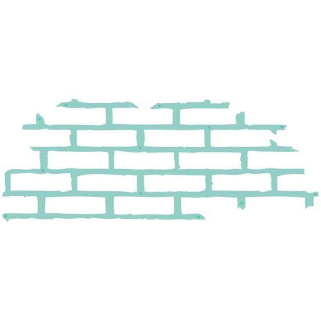 Kaisercraft Decorative Die - Texture Brickwork