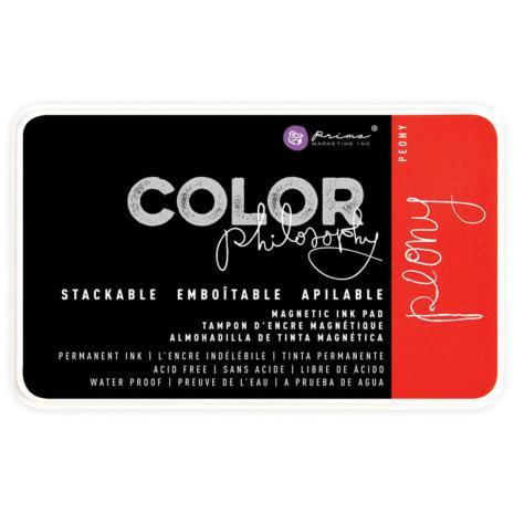 Prima Color Philosophy Permanent Ink Pad - Peony
