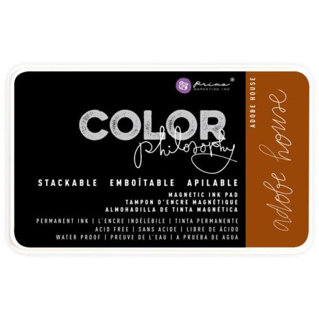 Prima Color Philosophy Permanent Ink Pad - Adobe House