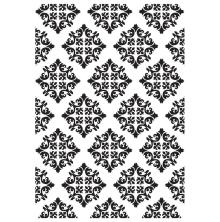 Kaisercraft Embossing Folder 4X6 - Diamond Damask