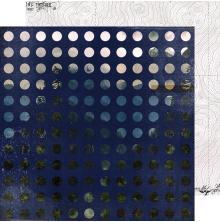 Heidi Swapp Hawthorne Double-Sided Cardstock 12X12 - Dreamscape