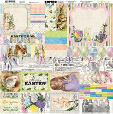 BoBunny Combo Stickers 12X12 - Cottontail
