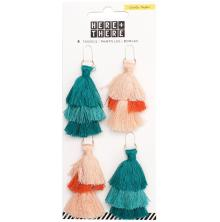 Crate Paper Tiered Tassels 4/Pkg - Here & There