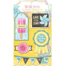 BoBunny Layered Chipboard - Summer Mood