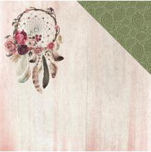 Kaisercraft Gypsy Rose Double-Sided Cardstock 12X12 - Free Spirit