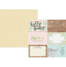 Simple Stories Oh Baby! Double-Sided Cardstock 12X12 - 4X6 Horizontal Elements