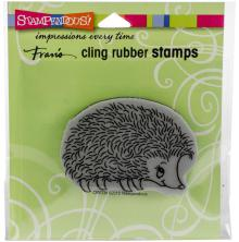 Stampendous Cling Stamp 4x3.5- Happy Hedgehog