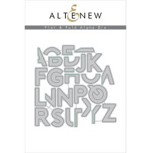 Altenew Die Set - Flat & Fold Alpha