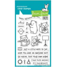 Lawn Fawn Clear Stamps 4X6 - Critter Concert