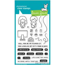 Lawn Fawn Clear Stamps 4X6 - Screen Time