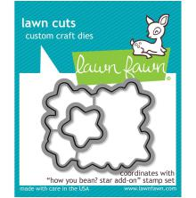 Lawn Fawn Custom Craft Die - How You Bean? Stars