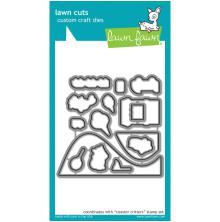 Lawn Fawn Custom Craft Die - Coaster Critters