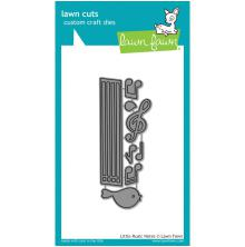 Lawn Fawn Custom Craft Die - Little Music Notes