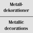 Metalldekorationer