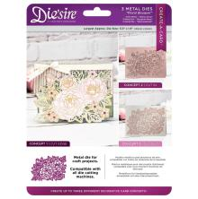 Crafters Companion Diesire 5,5 x 1,9 Create a Card - Floral Bouquet