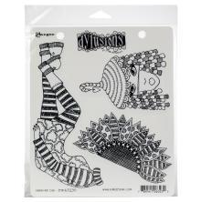 Dylusions Cling Stamp 8.5X7 - Sunshine Girl