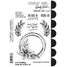 Wendy Vecchi Cling Stamps 6 1/2 x 8 3/4 - Special Art