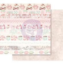 Prima Santa Baby Double-Sided Cardstock 12X12 - Let It Snow