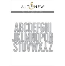 Altenew Die Set - Fine Alphabet