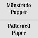 Mönstrade papper