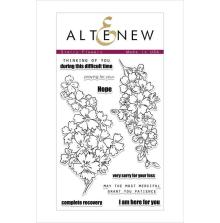 Altenew Clear Stamps 4X6 - Starry Flowers