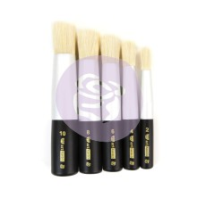 Prima Finnabair Art Basics Dabbing Brushes 5/Pkg