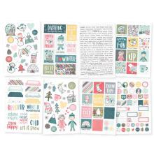 Simple Stories Stickers 4X6 8/Pkg - Freezin Season